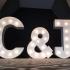 Light Up Letters - C&J