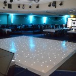 White Iluminated Dance Floor