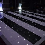 Black and White Illuminated Dance Floor