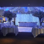 Wedding Reception with Dancefloor, Lighting Provided by Monitor Lighting