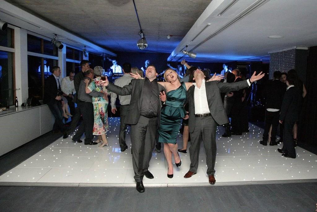 SPARKLY REUNION DANCE FLOOR