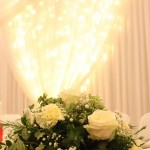 Dancefloors and White Starcloths for Weddings