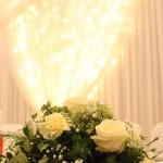 Dancefloors and White Starcloths for Weddings