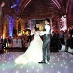 Light up dancefloor at a wedding